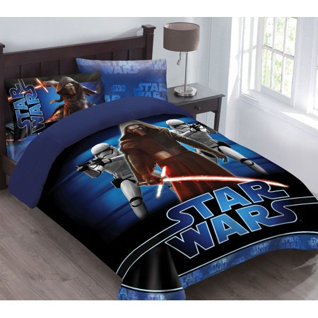 Star Wars The Force Awakens Comforter Set with Fitted