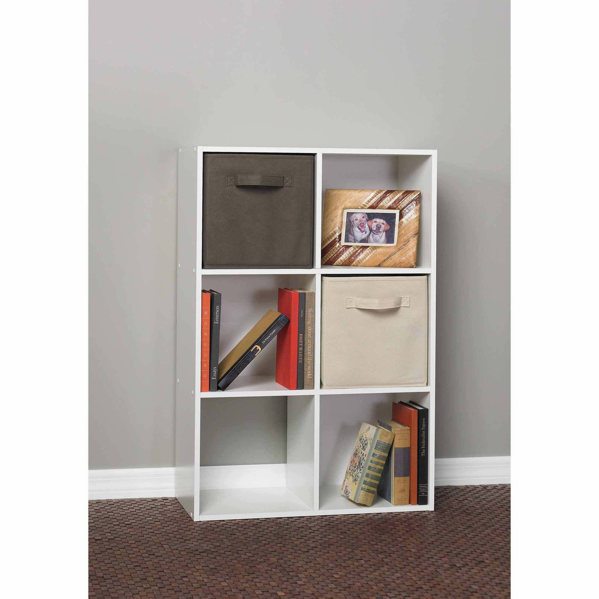 ClosetMaid 6 Cube Organizer, White   Walmart.com