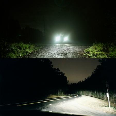 1Pair 80W COB LED Car Headlight Kit H7 6000K 8000LM Fog Bulbs HID Lamp Set - image 2 de 8