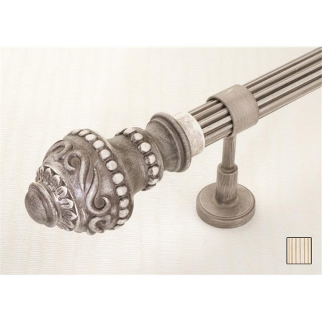 WinarT USA 8.1087.45.31.120 Palas 1087 Curtain Rod Set - 1.75 in. - 48 in. - image 1 of 1