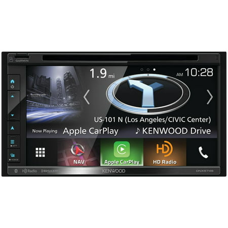 Kenwood Dnx574s 6 8 Double Din In Dash Navigation Dvd Receiver With