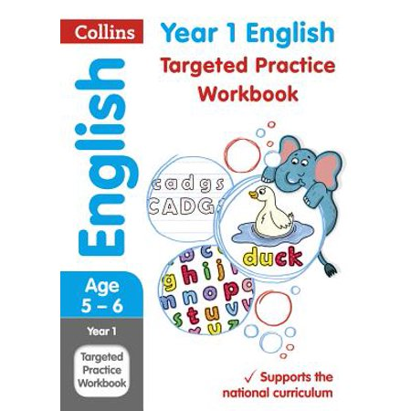 Collins KS1 Revision and Practice - New Curriculum – Year 1 English Targeted Practice