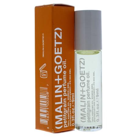 Petitgrain Perfume Oil By Malin + Goetz For Unisex   0.3 Oz Perfumed Oil Rollerball (Mini) by Malin + Goetz