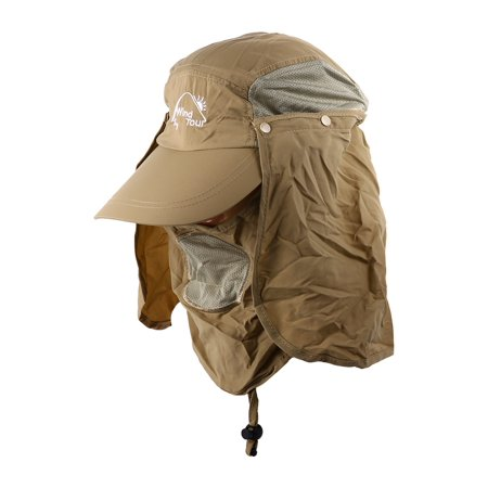14a2287f5db Flammi UV 50+ Protection Outdoor Multifunctional Flap Hat Neck Protection  Cap with Removable Sun Shield