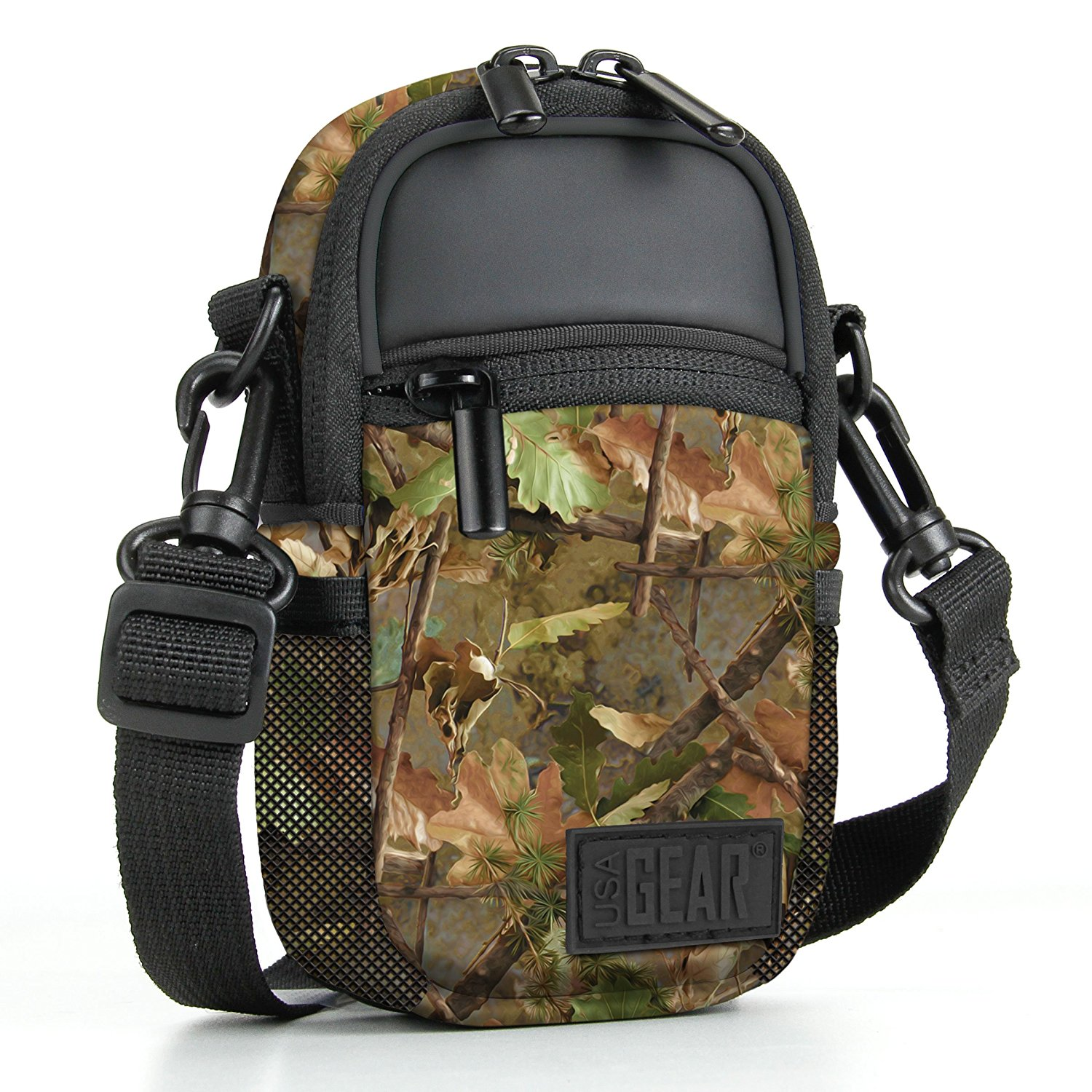 Click here to buy Compact Camera Bag by USA Gear with Rain Cover and Shoulder Sling Strap Works With Olympus Tough TG-4 , TG-860... by USA Gear.