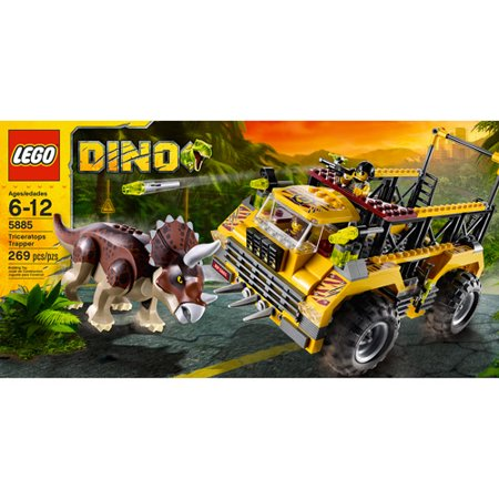 Lego dino triceratops trapper - Lego dinosaures ...
