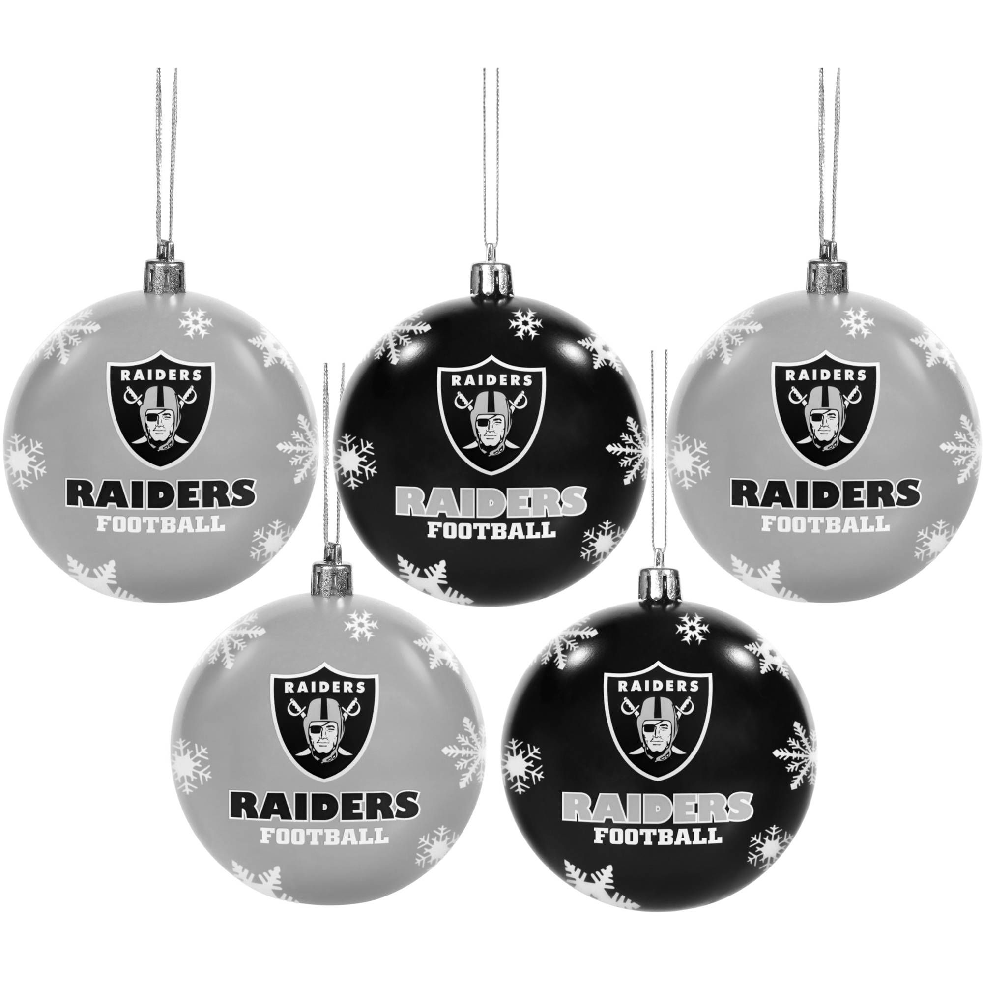 Forever Collectibles 2016 NFL Pack Shatterproof Ball Ornaments ...