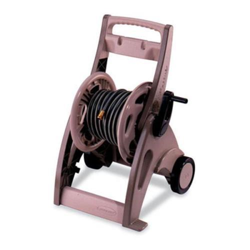 Suncast Hosemobile Hose Reel Cart Bronze Taupe by