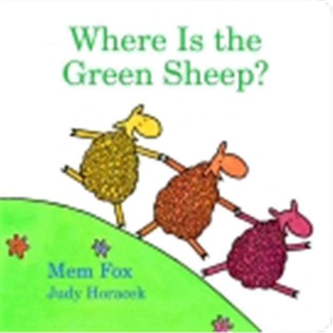Houghton Mifflin Harcourt Where Is The Green Sheep English Board Book