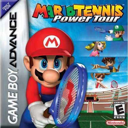 Mario Tennis: Power Tour - Nintendo Gameboy Advance GBA (Refurbished) (Super Mario World For Gameboy)
