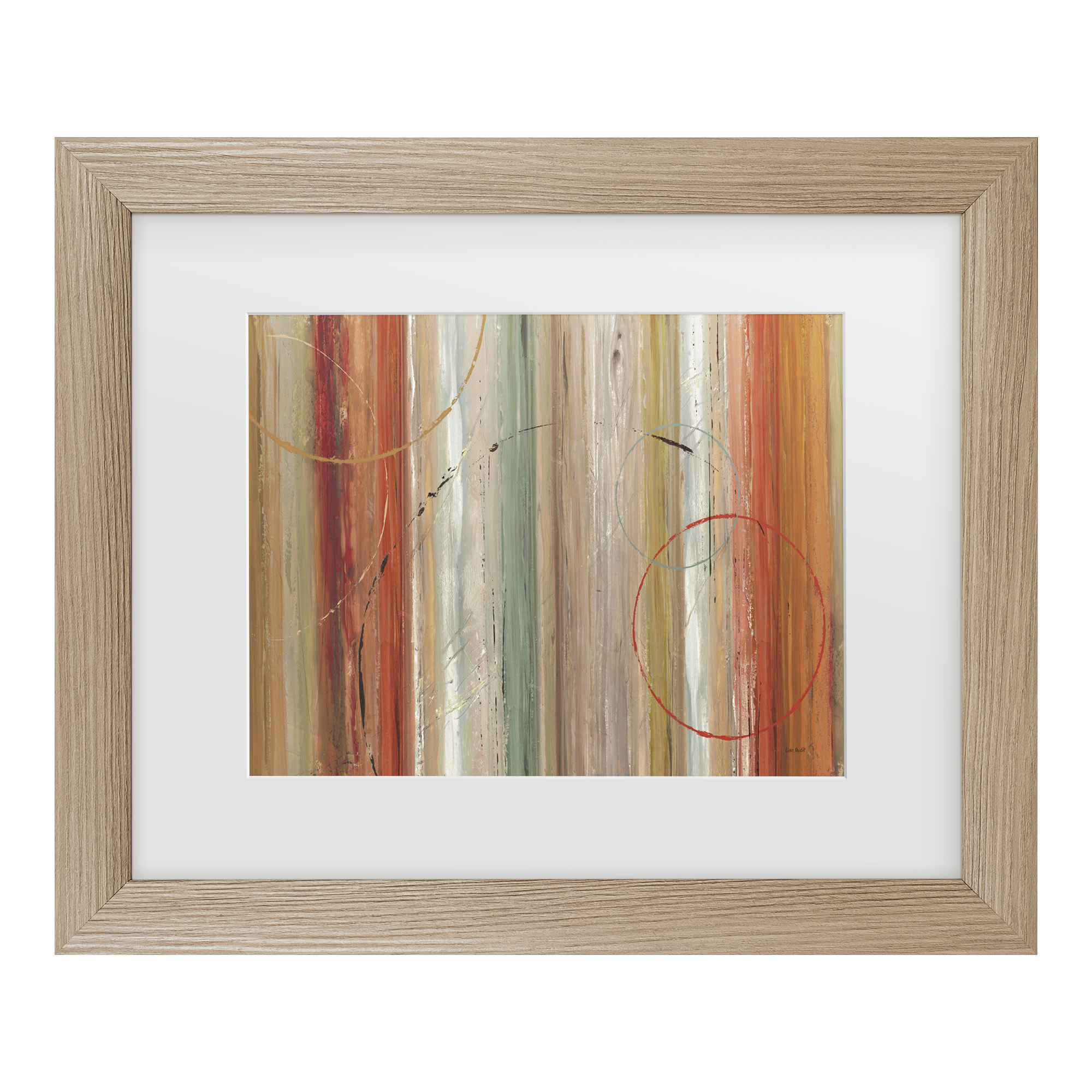 Trademark Fine Art 'Spiced II' Matted Framed Art by Lisa Audit