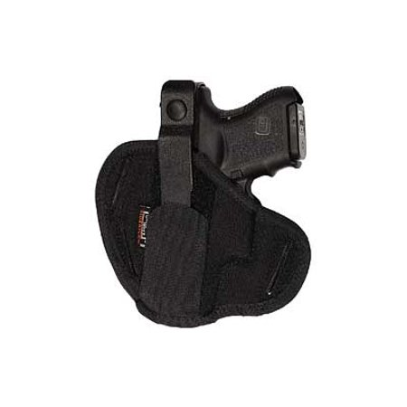 UNCLE MIKES BELT SLIDE SUPER HOLSTER GLOCK 26/27/33 LAMINATE BLACK
