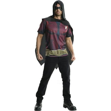 Arkham Robin Mens Tee Shirt Halloween Costume