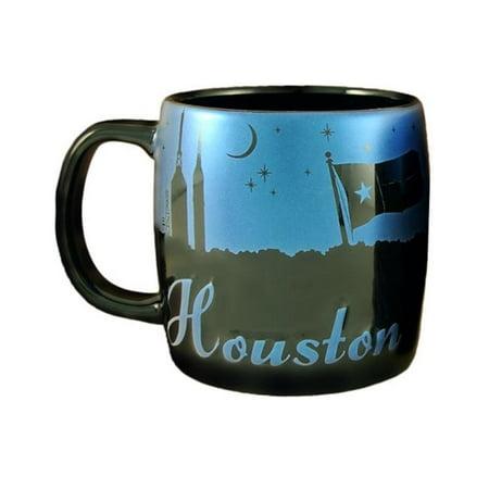 - Americaware SMHOU02 Houston 22 oz Night Sky Silhouette Mug