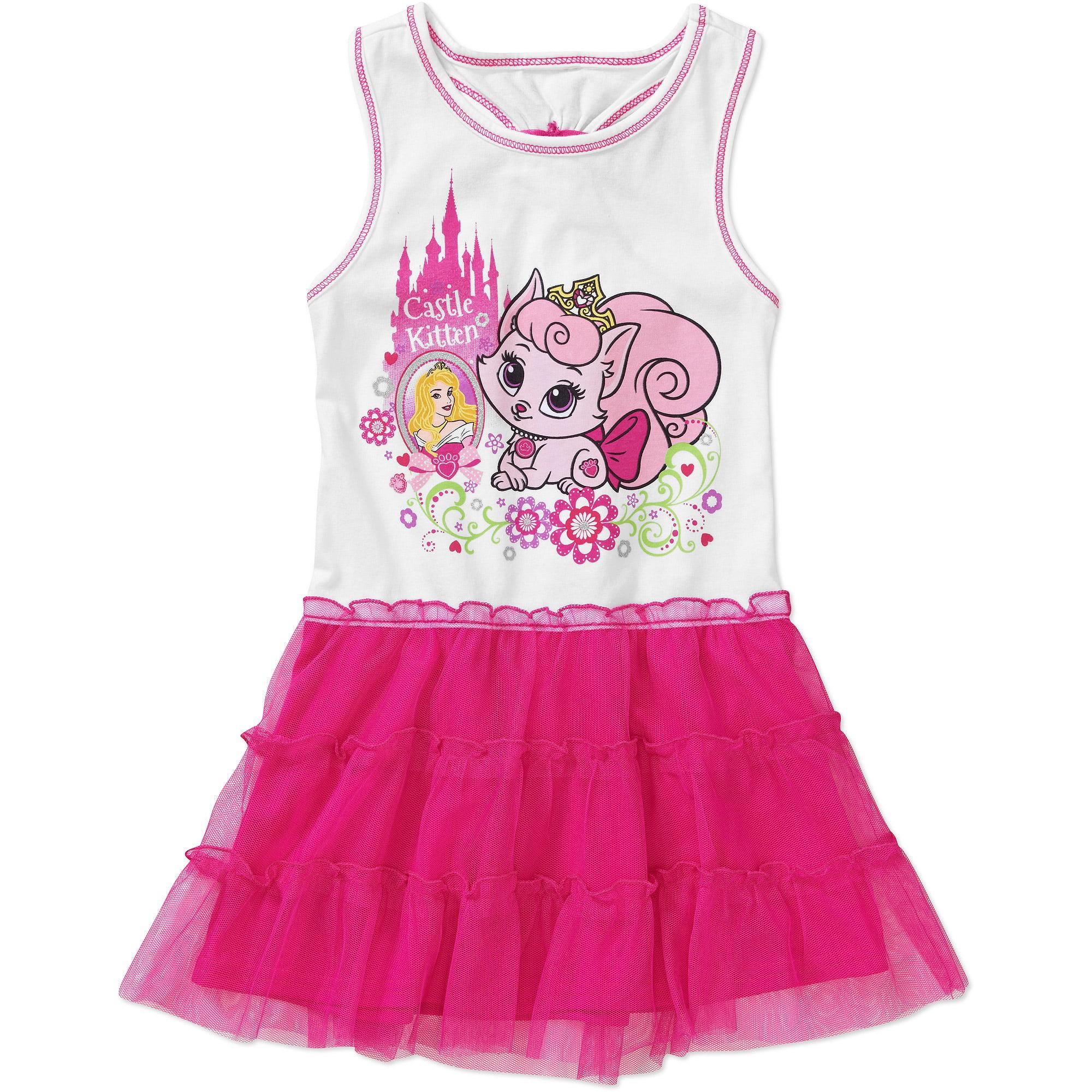 Disney - Disney Palace Pets Toddler Girl Dress