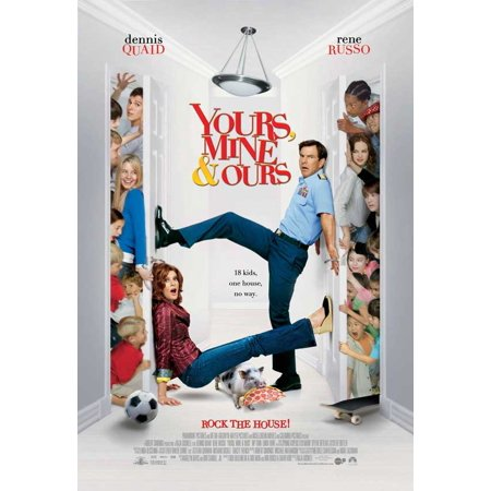 Yours, Mine and Ours - movie POSTER (Style B) (11