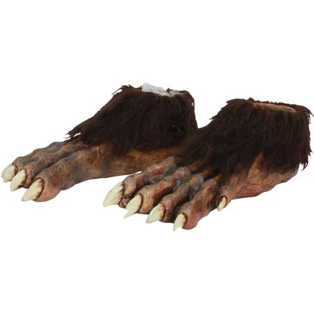 Wolf Feet Latex Deluxe Adult Halloween Accessory - Halloween Ghoulish Appetizers