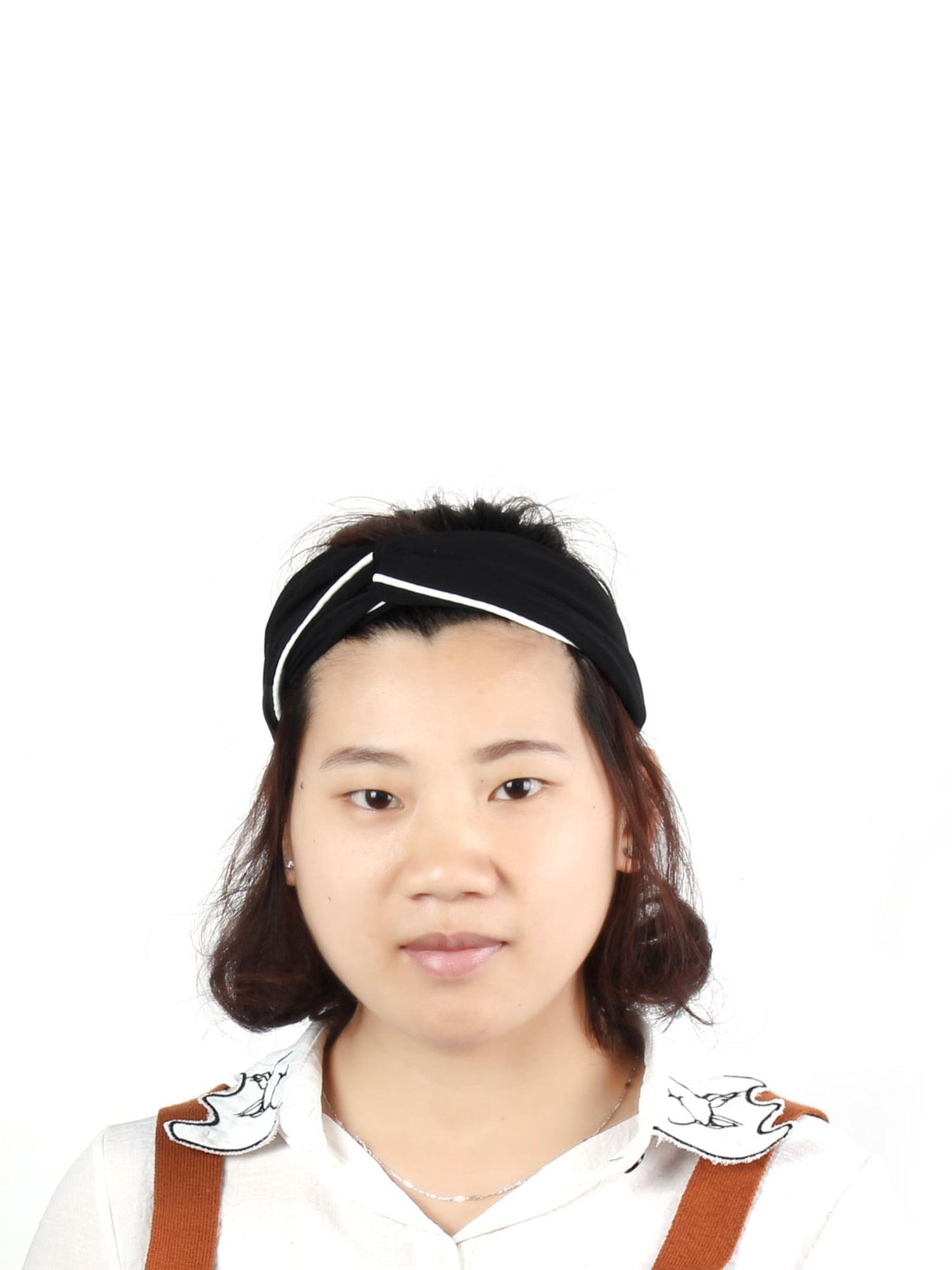Women Ladies Chiffon Elastic Twist Knot Headwraps Headband Hair ... c66003d4349