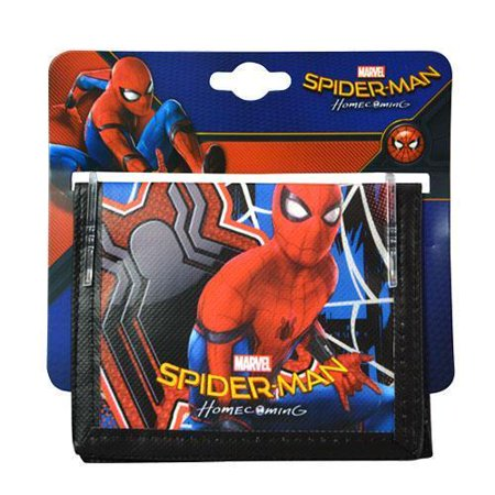 Party Favors Spiderman Non- Woven Bifold Wallet on Card- 6 - Spiderman Favors
