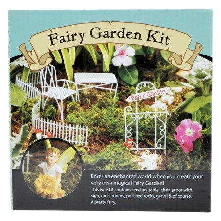 Leisure Arts Inc FolkArt Fairy Garden Kit, 1 Each - Walmart com