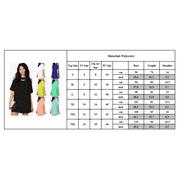 958de32732eb UKAP - Women's Sexy Cold-the-Shoulder Chiffon Mini Dress Short ...