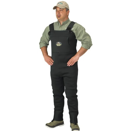 Neoprene Kids Waders - Caddis Men's Neoprene Stockingfoot Waders - XL Stout Green