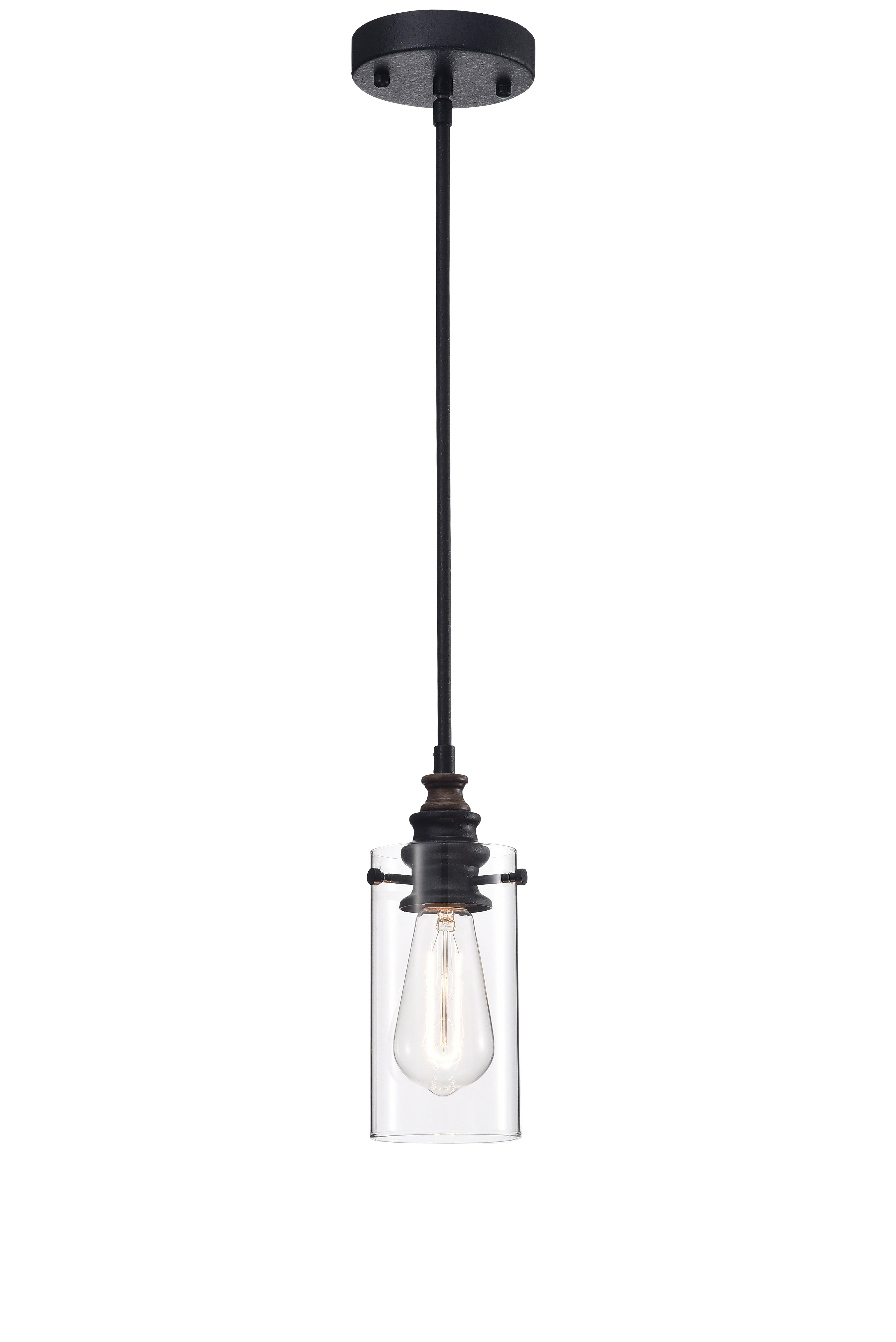Edison Light Bulb Pendant Pendant Light Fixture Wide Cylinder Shade Pendant Light Edison Bulb Kitchen Light
