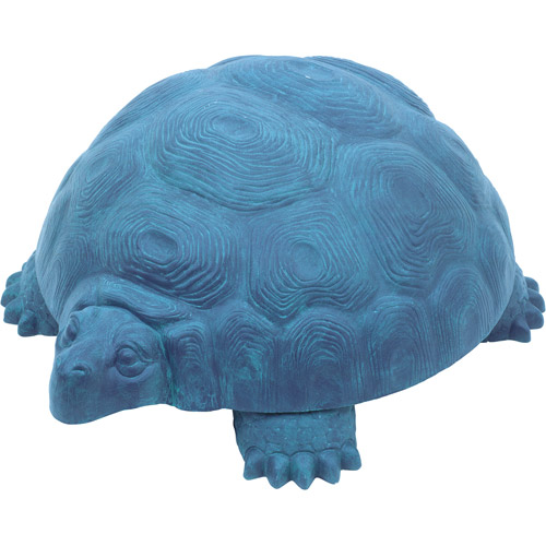 "Emsco Group 1560-1 ""DARWIN"" Galapagos Tortoise Hose-Hider - Holds 100 Foot Garden Hose, Patina"