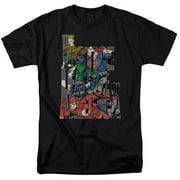 Jla - Lettered League - Short Sleeve Shirt - Medium