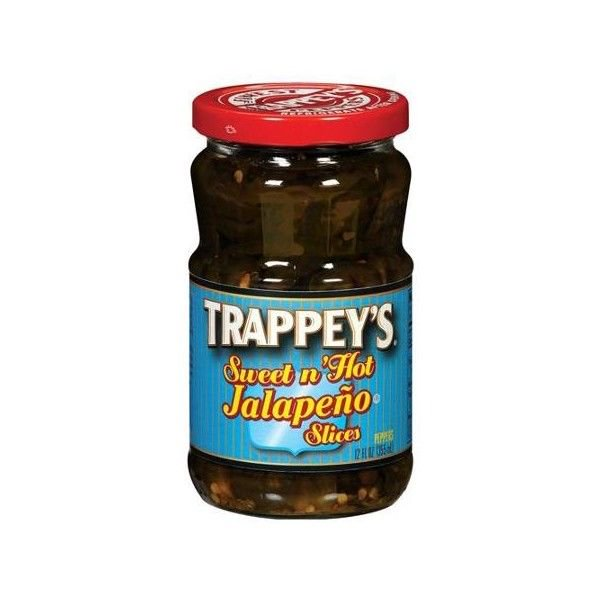 Trappey's Sweet N' Hot Jalapeno Peppers Slices, 12 fl oz