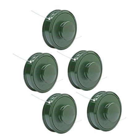 Oregon Trimmer  5 Pack  Replacement 2 Line Trimmer Head Bump And Feed Spool   55 284 5Pk