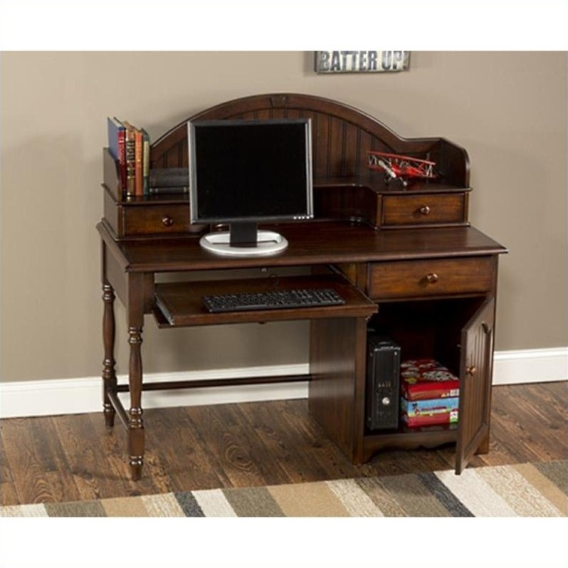 Hillsdale Furniture Westfield Computer Desk with Hutch