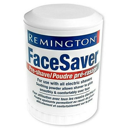 Remington Face Saver Pre-Shave Powder Stick, Prevent Shave Irritation