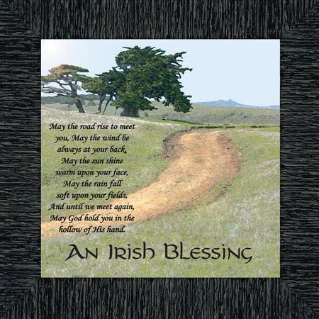 - An Irish Blessing Picture Frame, An Irish Blessing, Irish Blessing Picture Frame, May the Road Rise to Meet You, 10x10 8586