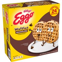 Kellogg's Eggo Chocolately Chip Waffles Easy Breakfast 29.6 oz 24 ct