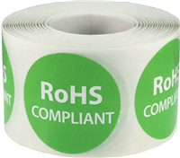 500 Labels on a Roll White From the Kitchen Of Stickers 1.5 Inches Round