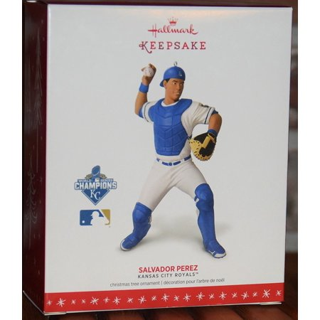 Hallmark 2016 Christmas Ornament MLB Kansas City Royals™ Salvador Perez Collectible Ornament - Baseball Christmas