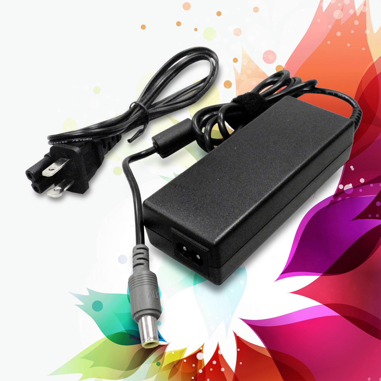90W AC Power Battery Charger Supply Cord  Lenovo IBM Thinkpad X61 T61 T61P R60
