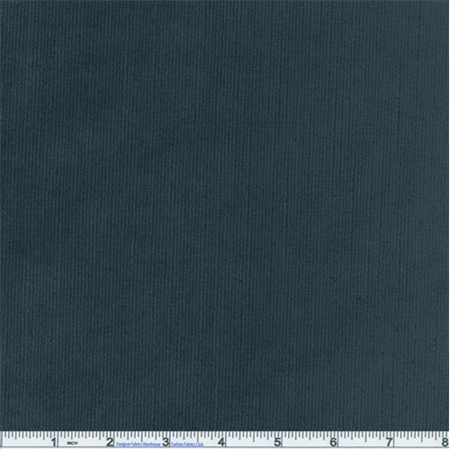 Sloane Ribbed Chenille Charcoal Blue Upholstery Fabric, Fabric Sold By the Yard