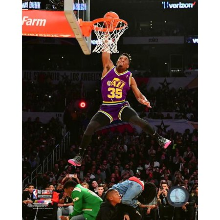Donovan Mitchell Slam Dunk Contest 2018 NBA All-Star Game Photo -