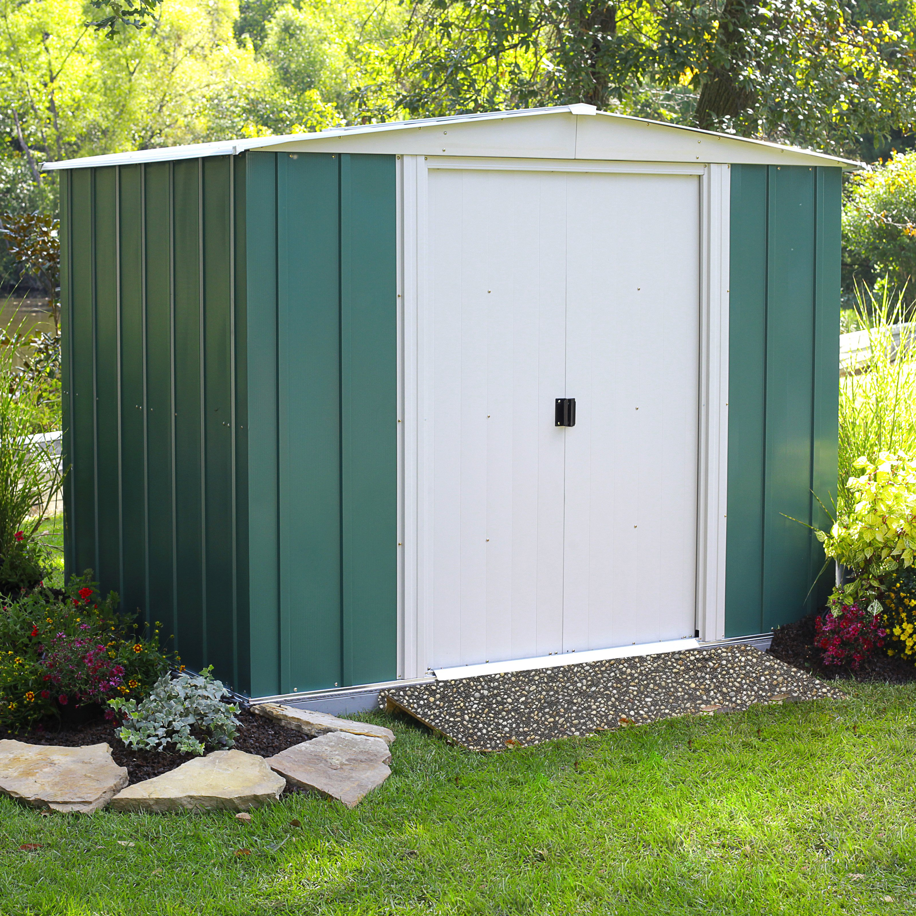 Arrow Euro Hamlet 6 X 10 Ft. Storage Shed