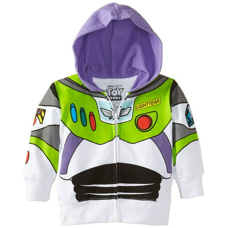 Disney Toddler Boys' Buzz Lightyear Toy Story Hoodie - Dark And Stormy Halloween Costume
