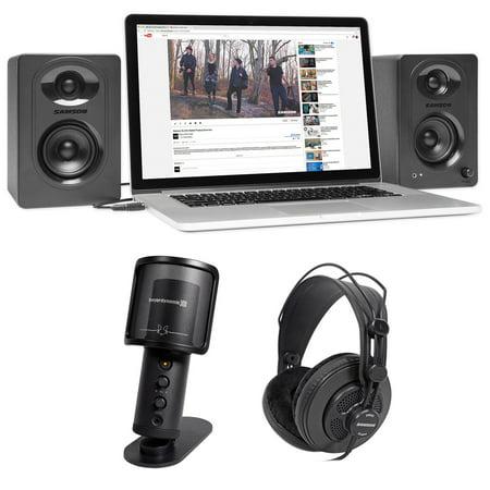 beyerdynamic fox usb podcast podcasting microphone samson headphones monitors. Black Bedroom Furniture Sets. Home Design Ideas