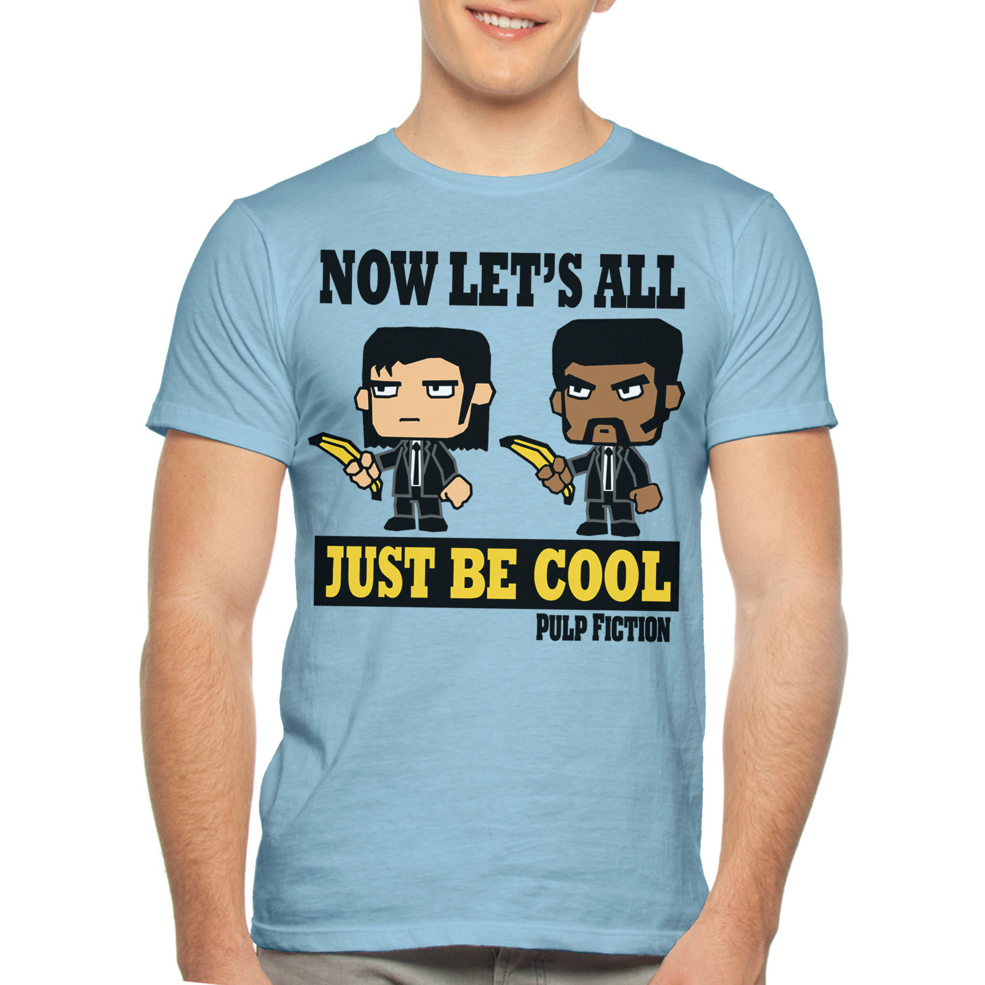 Pulp Fiction Be Cool Men's Graphic Tee