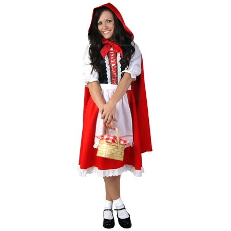 Plus Size Little Red Riding Hood (Women's Plus Size Little Red Costumes)