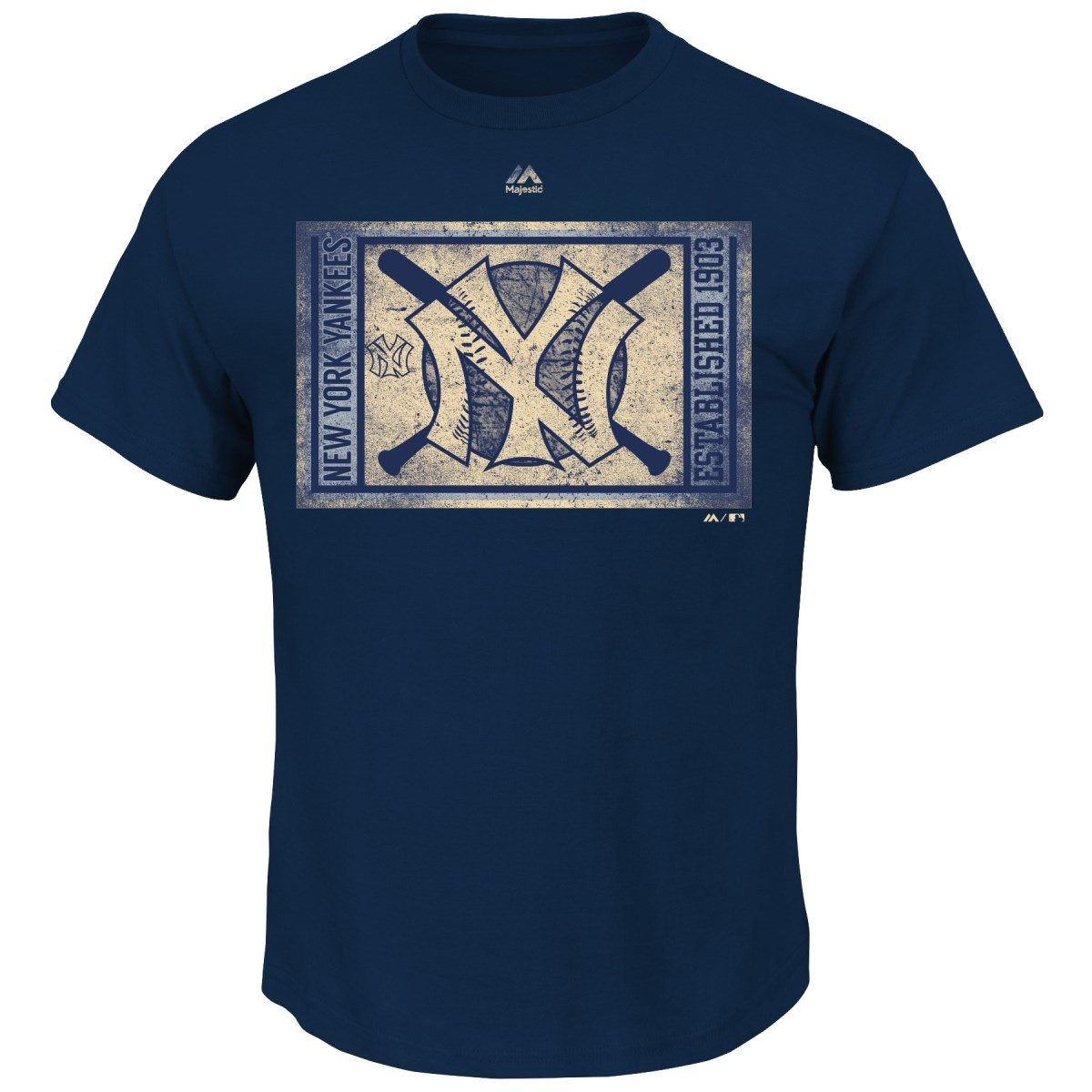 "New York Yankees Majestic MLB ""Arch Rival"" Cooperstown Men's T-Shirt"
