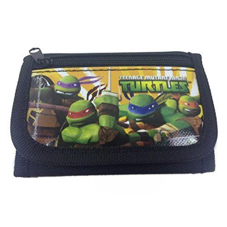 Turtle Wallet (Ninja Turtles Black Trifold Wallet)