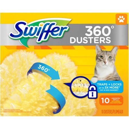 Swiffer 360 Dusters Pet Refills 10 Count