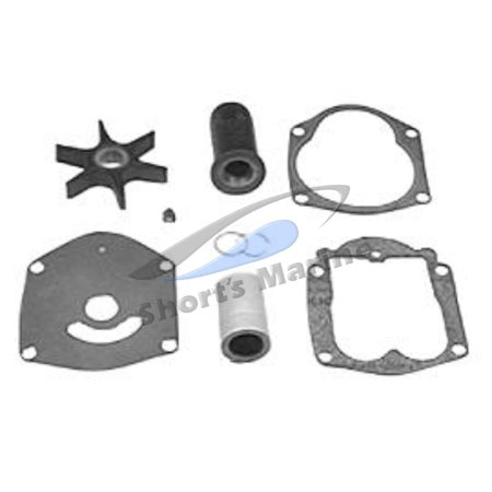 OEM Mercury 40/45/50 4-Stroke Outboard Water Pump Impeller Repair Kit 821354A - Dynamax Impeller