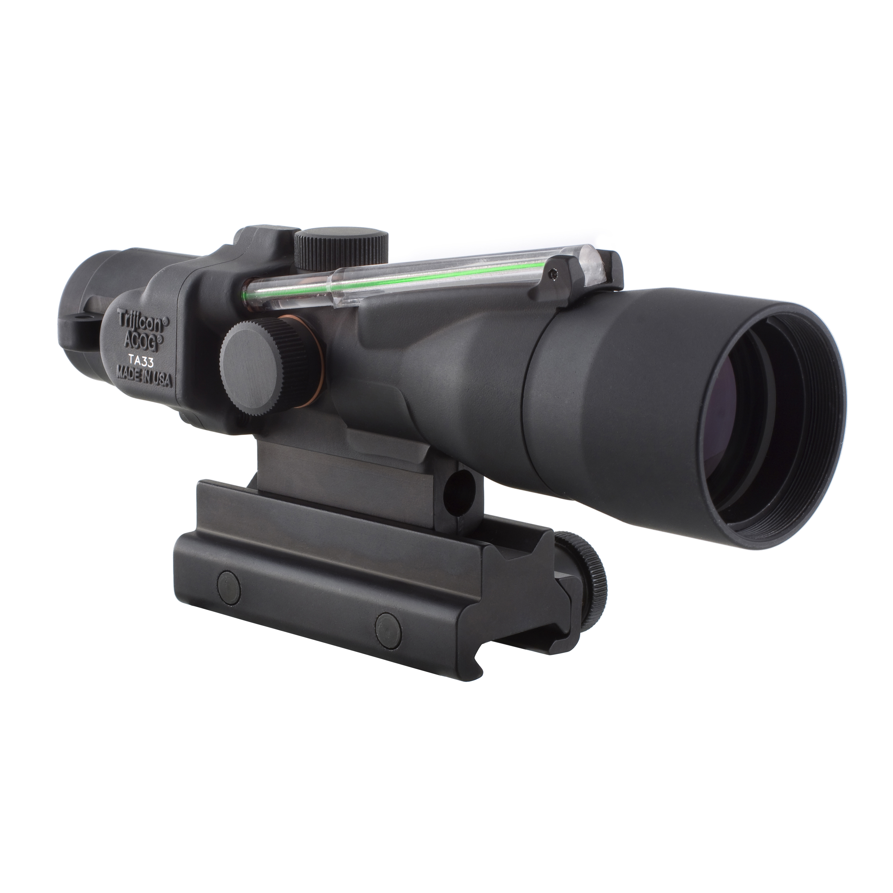 Trijicon ACOG 3x30mm Compact Dual Illuminated Scope Green Crosshair .300 Blackout 115 220gr Ball Reticle, Colt Knob... by Trijicon